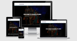 House of Juru Website developed by AfrikNet